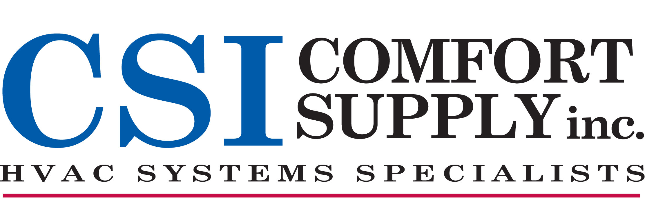 Comfort Supply Inc. Mobile Logo